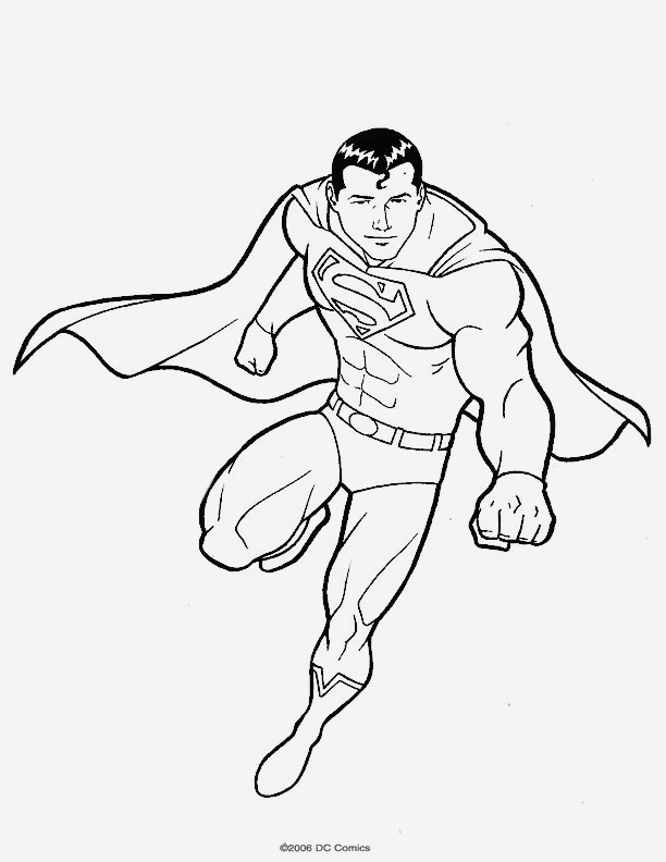 Coloriage Superman à Imprimer Gratuit Fresh 108 Dessins De Coloriage Superman   Imprimer Of Coloriage Superman à Imprimer Gratuit