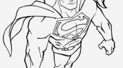 Coloriage Superman à Imprimer Gratuit Fresh Coloring Page Superman En 2020