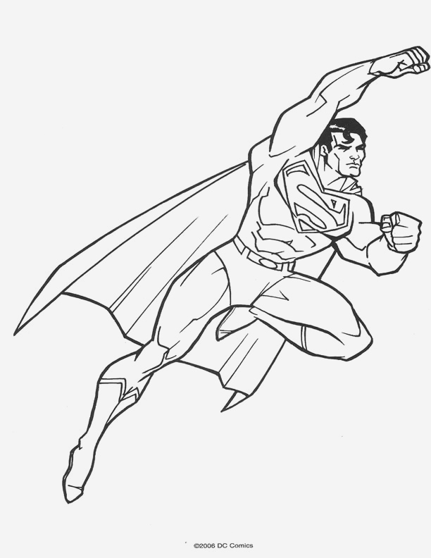 Coloriage Superman à Imprimer Gratuit New Dessin Superman Az Coloriage Of Coloriage Superman à Imprimer Gratuit