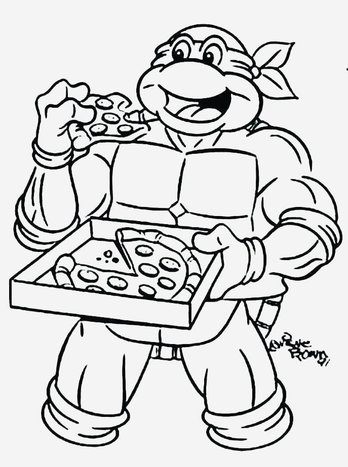 Coloriage tortue Ninja à Imprimer Gratuit Elegant Teenage Mutant Ninja Turtles Coloring Pages Of Coloriage tortue Ninja à Imprimer Gratuit
