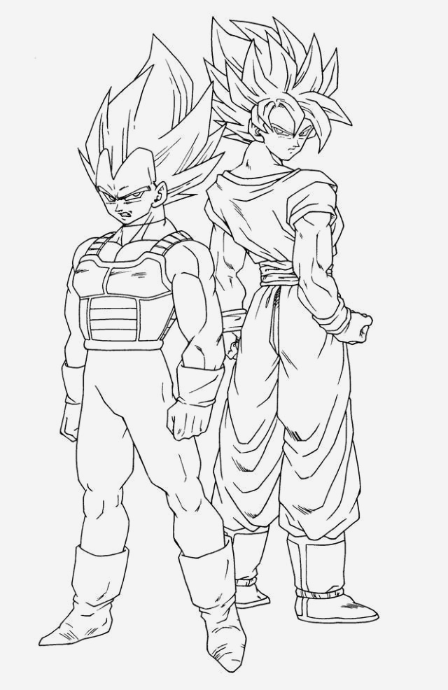 Coloriage Vegeta A Imprimer Best Of Coloriage Dragon Ball Super A Imprimer Of Coloriage Vegeta A Imprimer