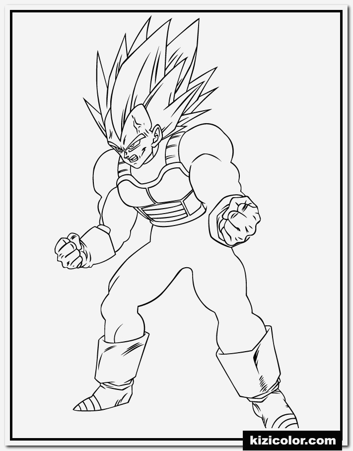 Coloriage Vegeta A Imprimer Fresh 🎨 Boule De Dragon Z Super Ve A Des Pages   Colorier Of Coloriage Vegeta A Imprimer
