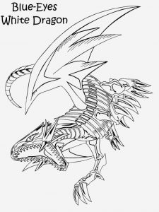 Coloriage Yu Gi Oh Dragon Blanc Aux Yeux Bleus Luxury Dragon 23 Animals – Printable Coloring Pages