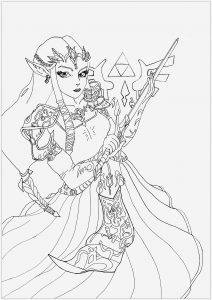 Coloriage Zelda Breath Of the Wild Best Of Video Games Coloring Pages for Adults