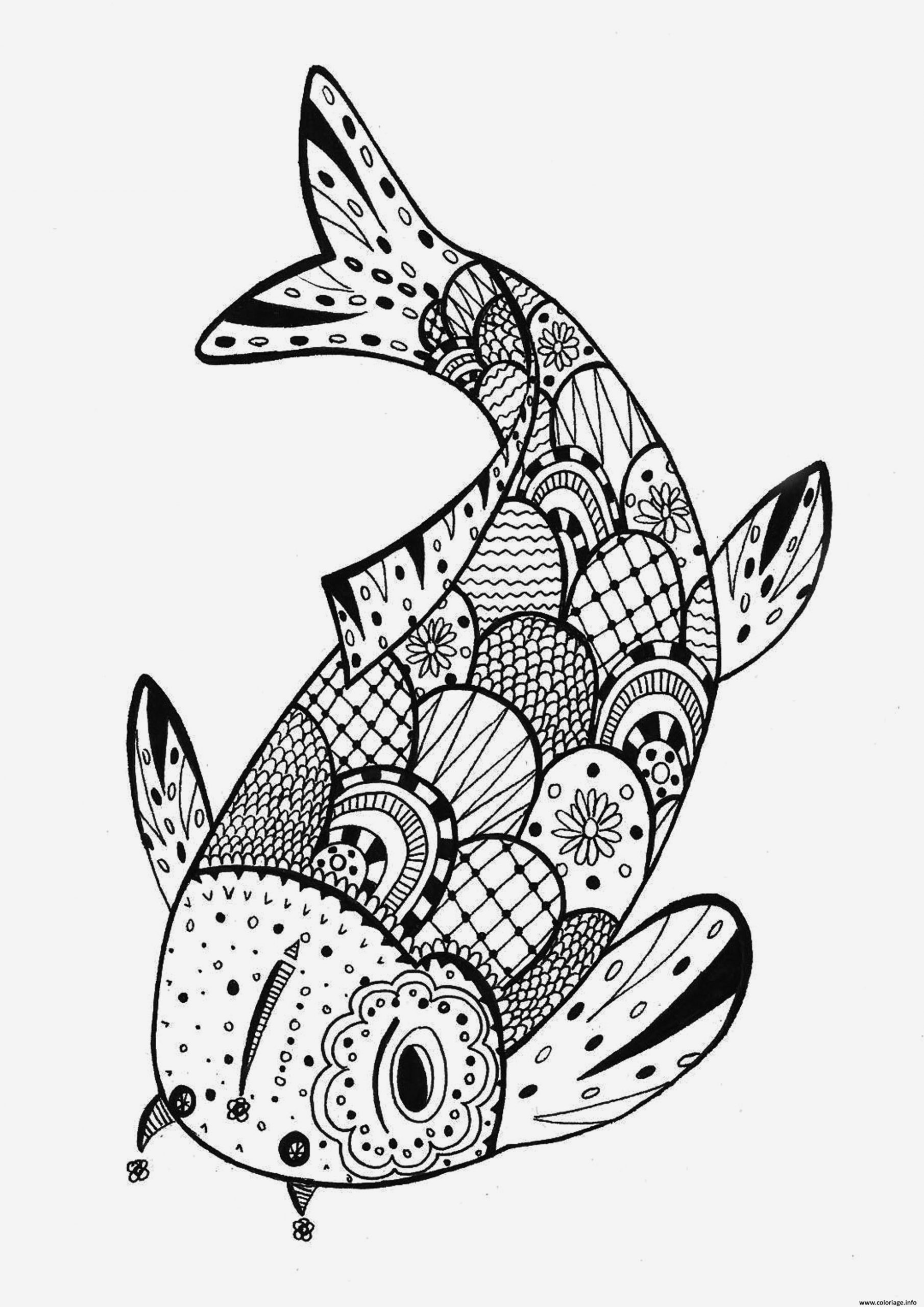 Poisson Avril Coloriage Luxury Coloriage Poisson Davril Mandala Dessin Of Poisson Avril Coloriage