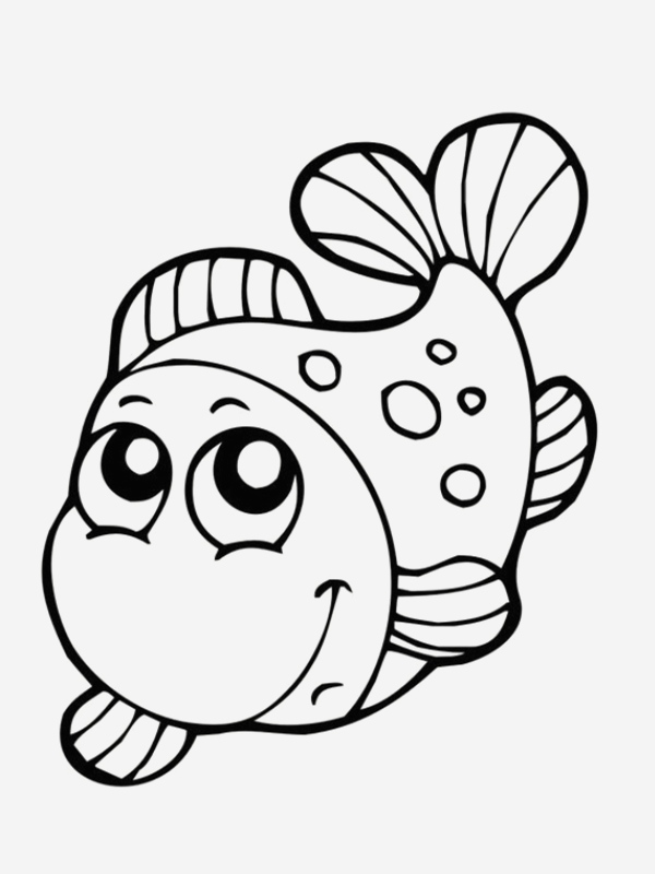 Poisson Avril Coloriage New Poissons Coloriages Of Poisson Avril Coloriage