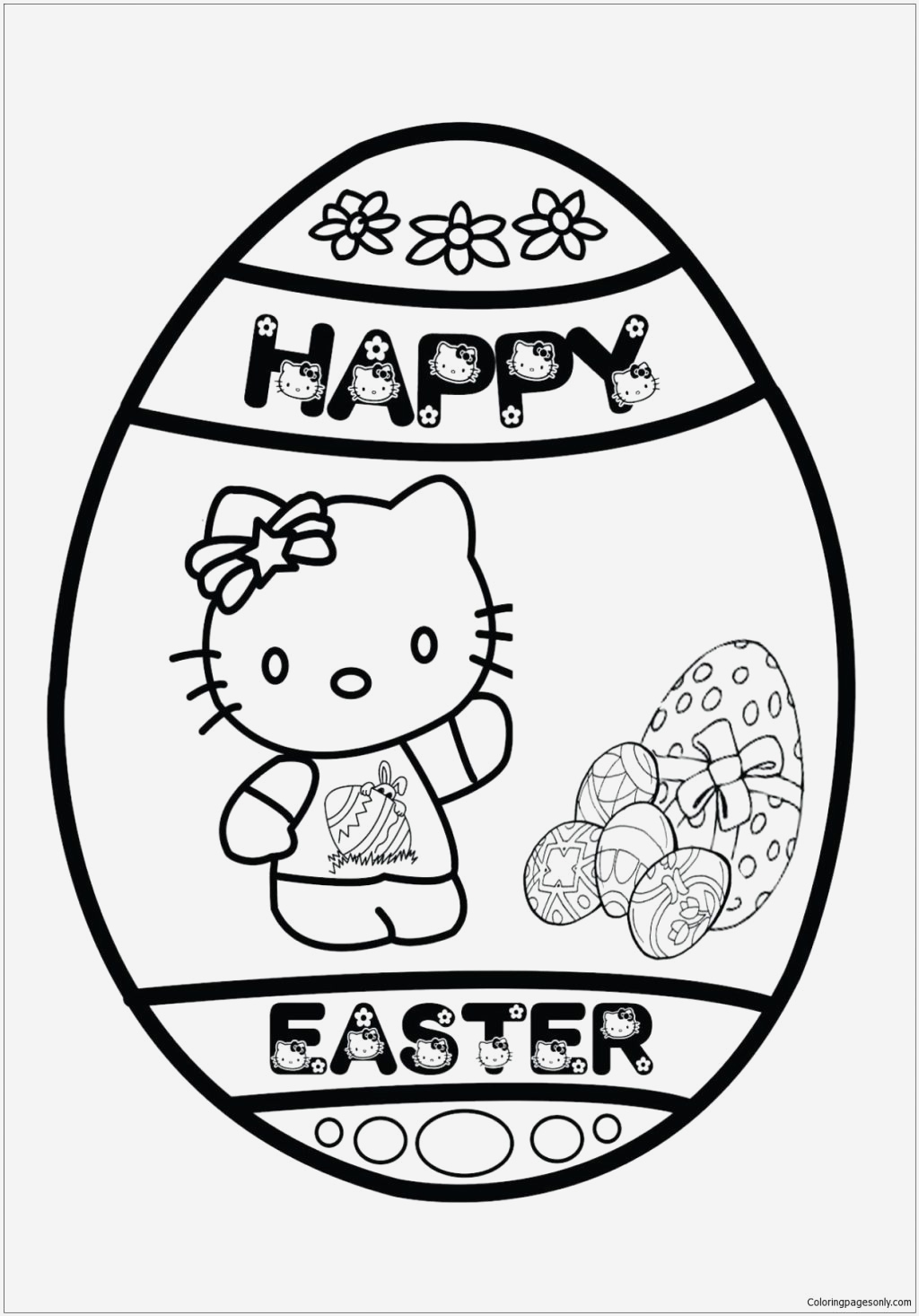 Coloriage à Imprimer Hello Kitty Best Of Shrek to Print and Colour Pusat Hobi