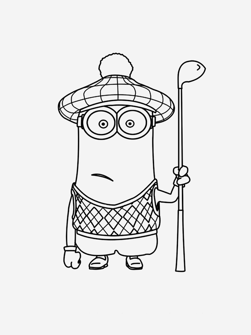 Coloriage A Imprimer Minion Gratuit Awesome Despicable Me 7 Animation Movies – Printable Coloring Pages
