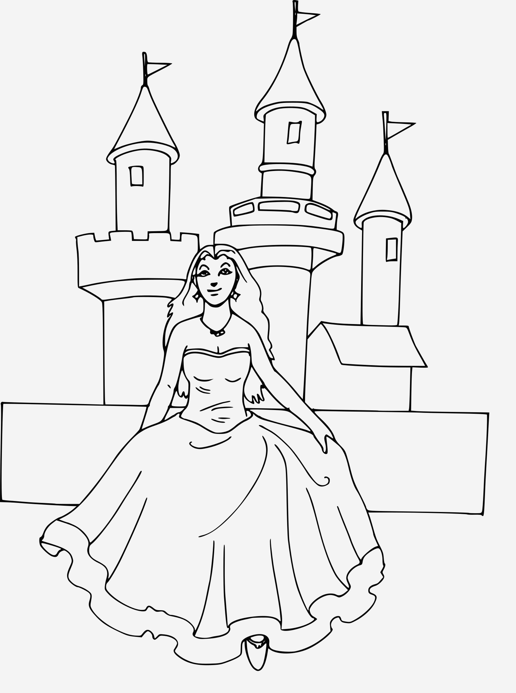 Coloriage Chateau Princesse Beautiful Coloriage Chateau Princesse   Imprimer Sur Coloriages Fo Of Coloriage Chateau Princesse