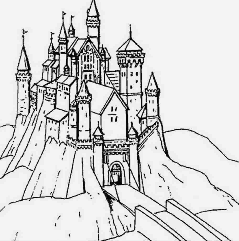 Coloriage Chateau Princesse Fresh Coloriage Dessin Ch¢teaux   Imprimer Princesse Of Coloriage Chateau Princesse