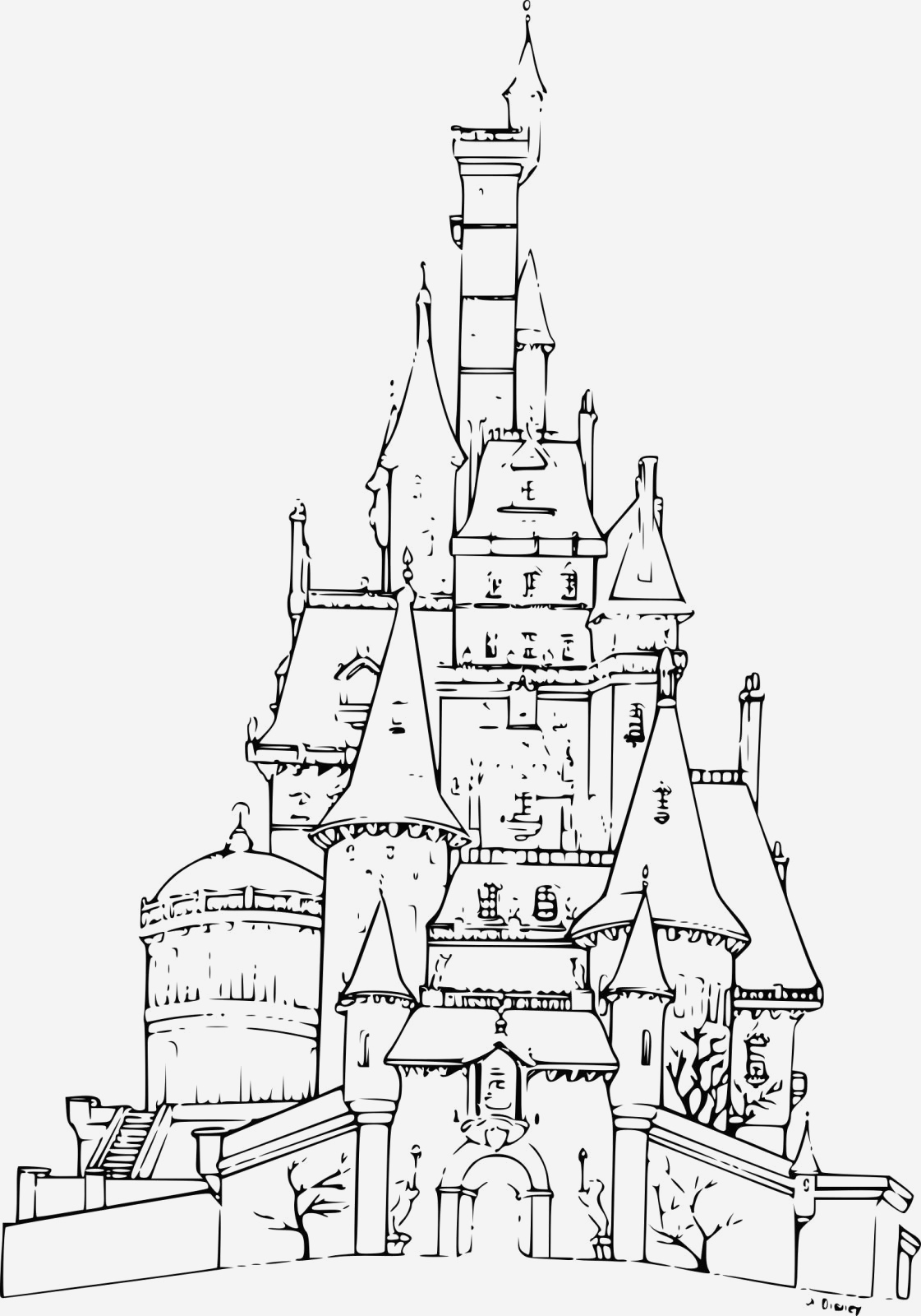 Coloriage Chateau Princesse Luxury La Reine Des Neiges Chateau Coloriage Of Coloriage Chateau Princesse