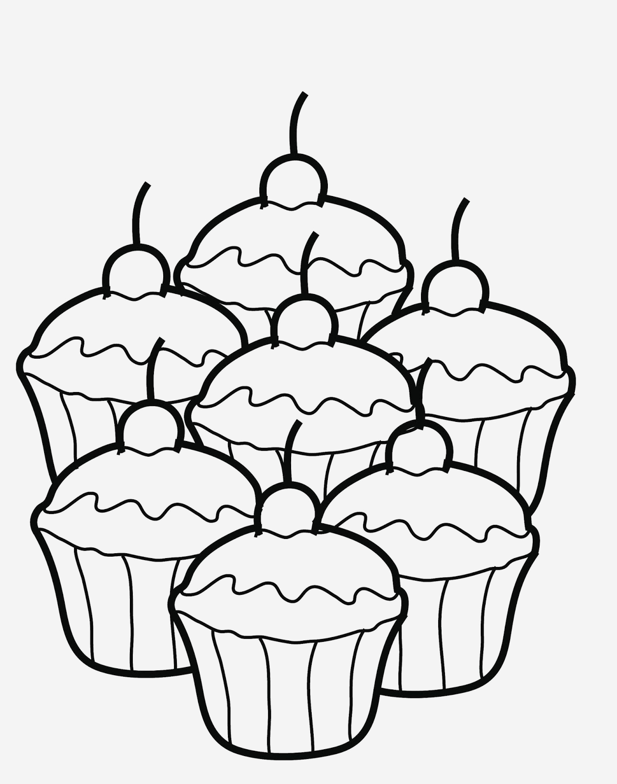 Coloriage Cupcake à Imprimer Lovely √ Coloriage Noel Grand format Of Coloriage Cupcake à Imprimer