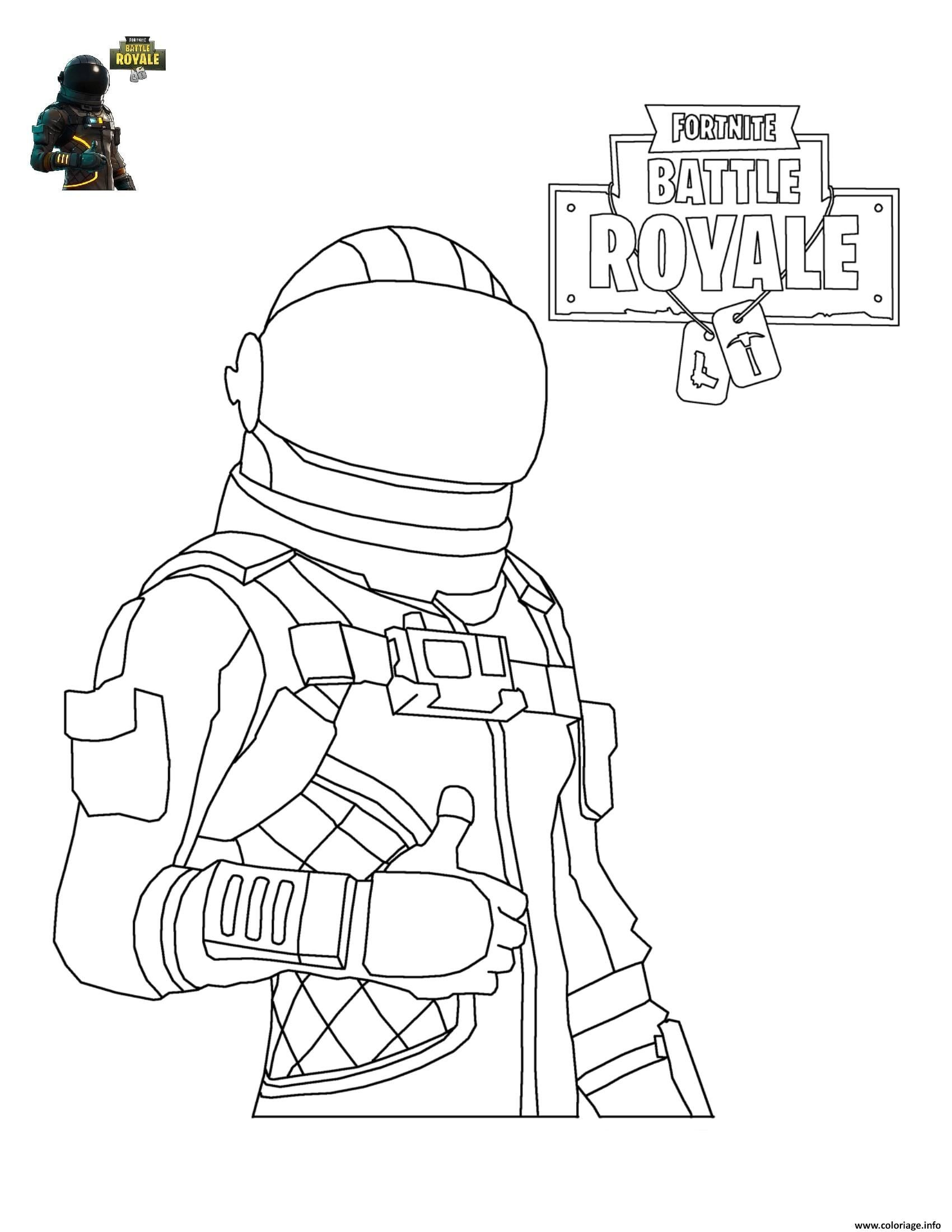 Coloriage De fortnite A Imprimer Gratuitement Awesome Coloriage fortnite Battle Royale Personnage 4   Imprimer En