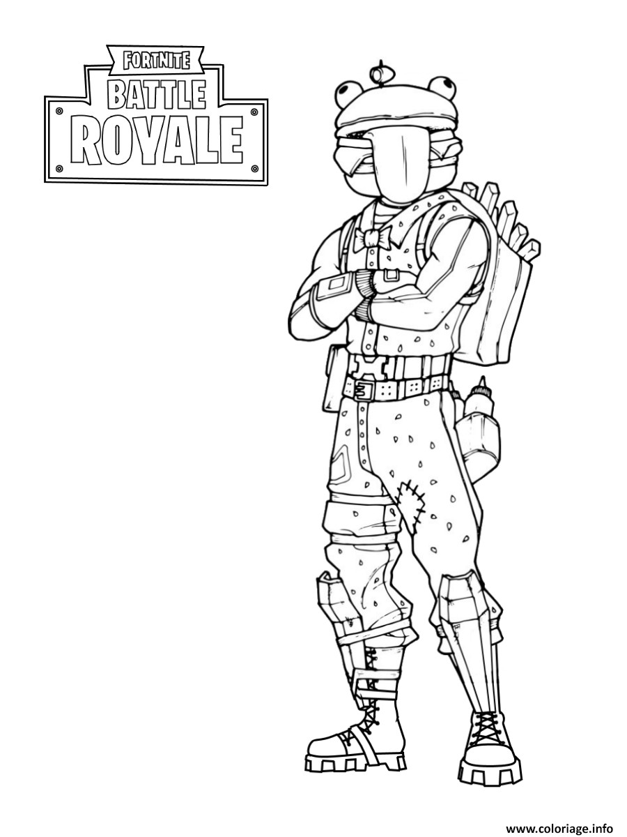 Coloriage De fortnite A Imprimer Gratuitement Awesome Coloriage fortnite Frog Skin Dessin   Imprimer En 2020 Of Coloriage De fortnite A Imprimer Gratuitement