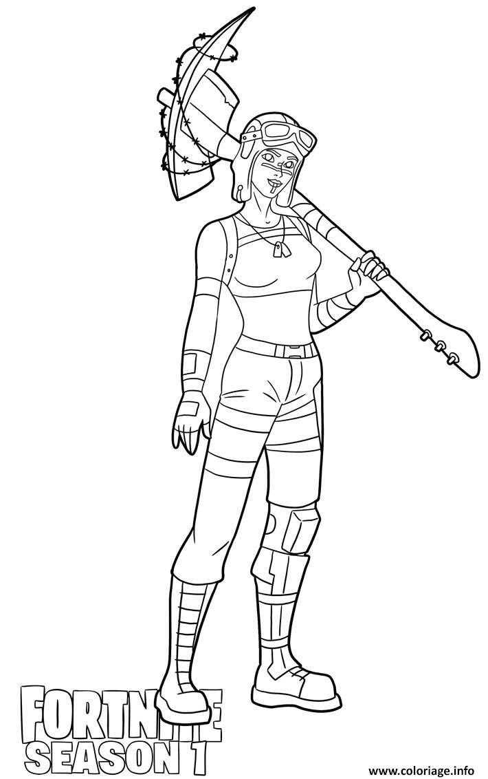 Coloriage De fortnite A Imprimer Gratuitement Fresh Coloriage Renegade Raider Skin From fortnite Season 1 Dessin Of Coloriage De fortnite A Imprimer Gratuitement