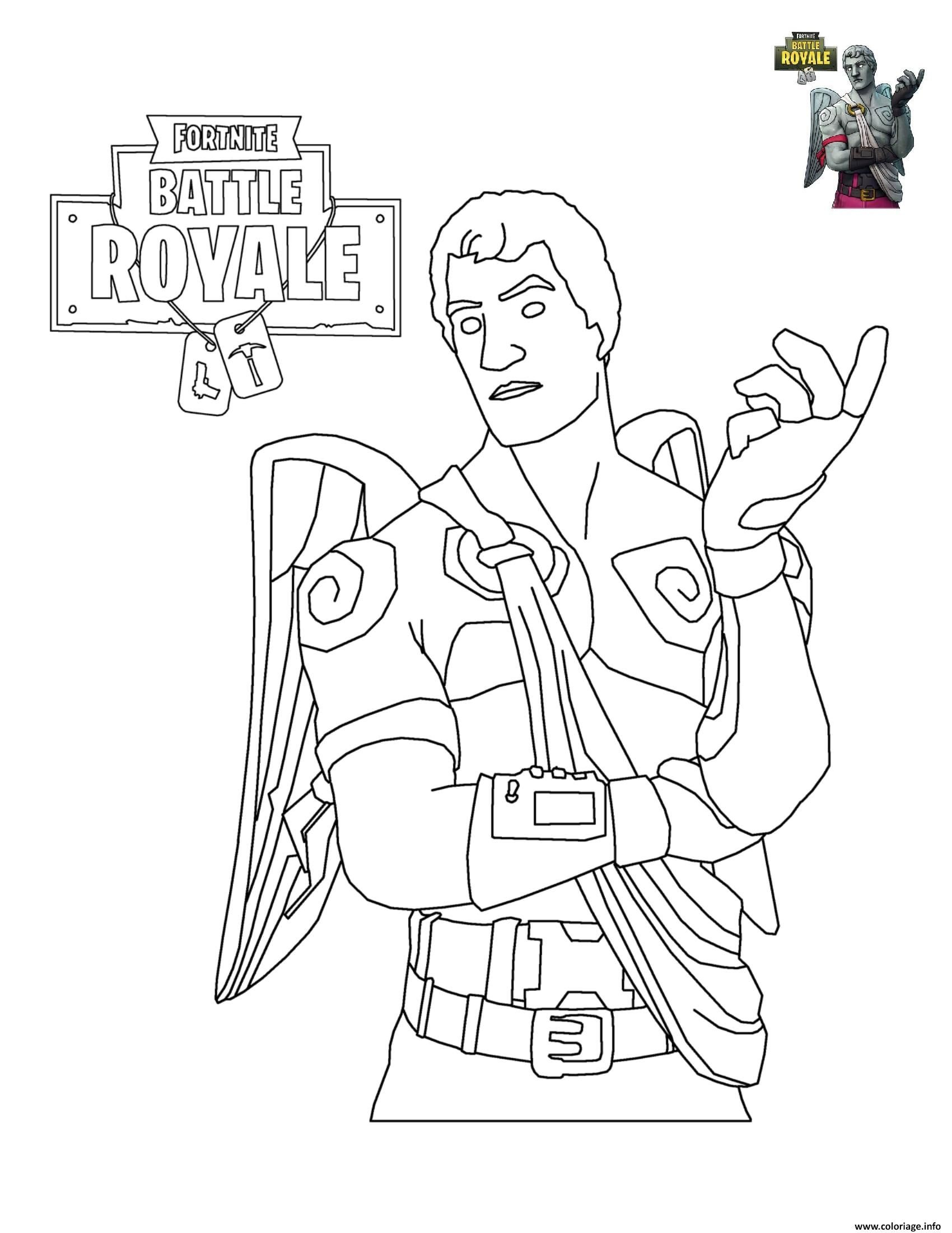 Coloriage De fortnite A Imprimer Gratuitement New Coloriage fortnite Battle Royale Personnage 6   Imprimer Of Coloriage De fortnite A Imprimer Gratuitement
