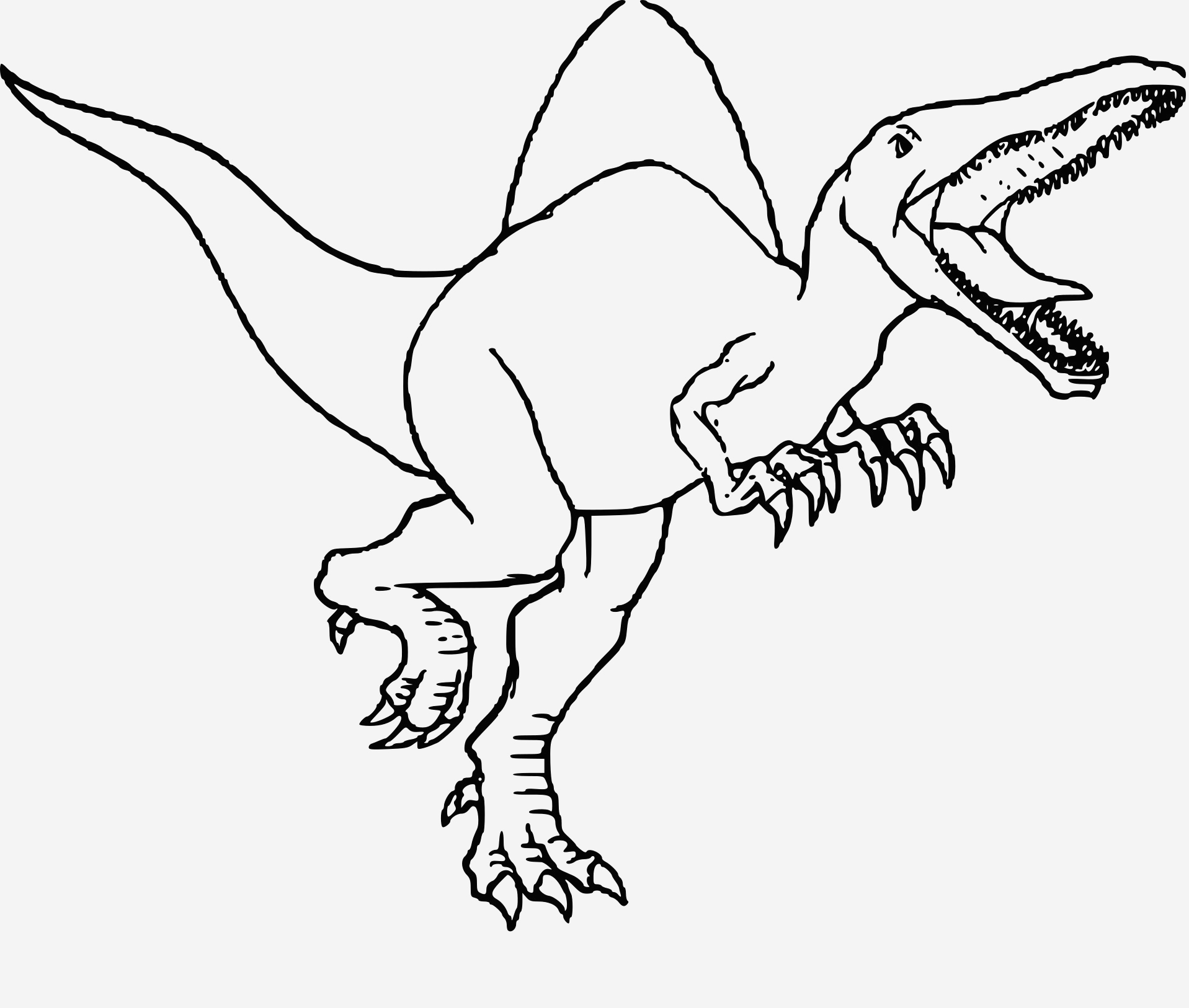 Coloriage Dinosaure Raptor Awesome Coloriage Dinosaure Jurassic Park   Imprimer Sur Coloriages Of Coloriage Dinosaure Raptor