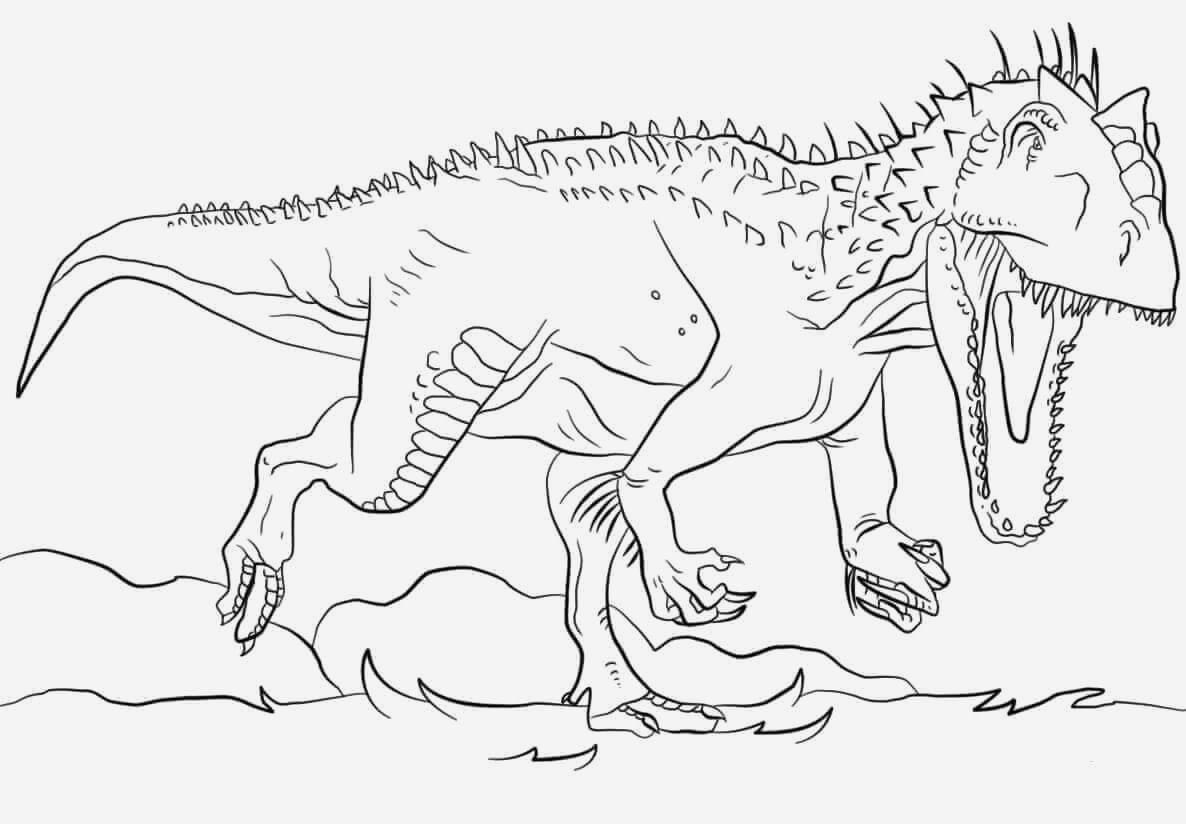 Coloriage Dinosaure Raptor Luxury Indoraptor Coloring Pages Of Coloriage Dinosaure Raptor