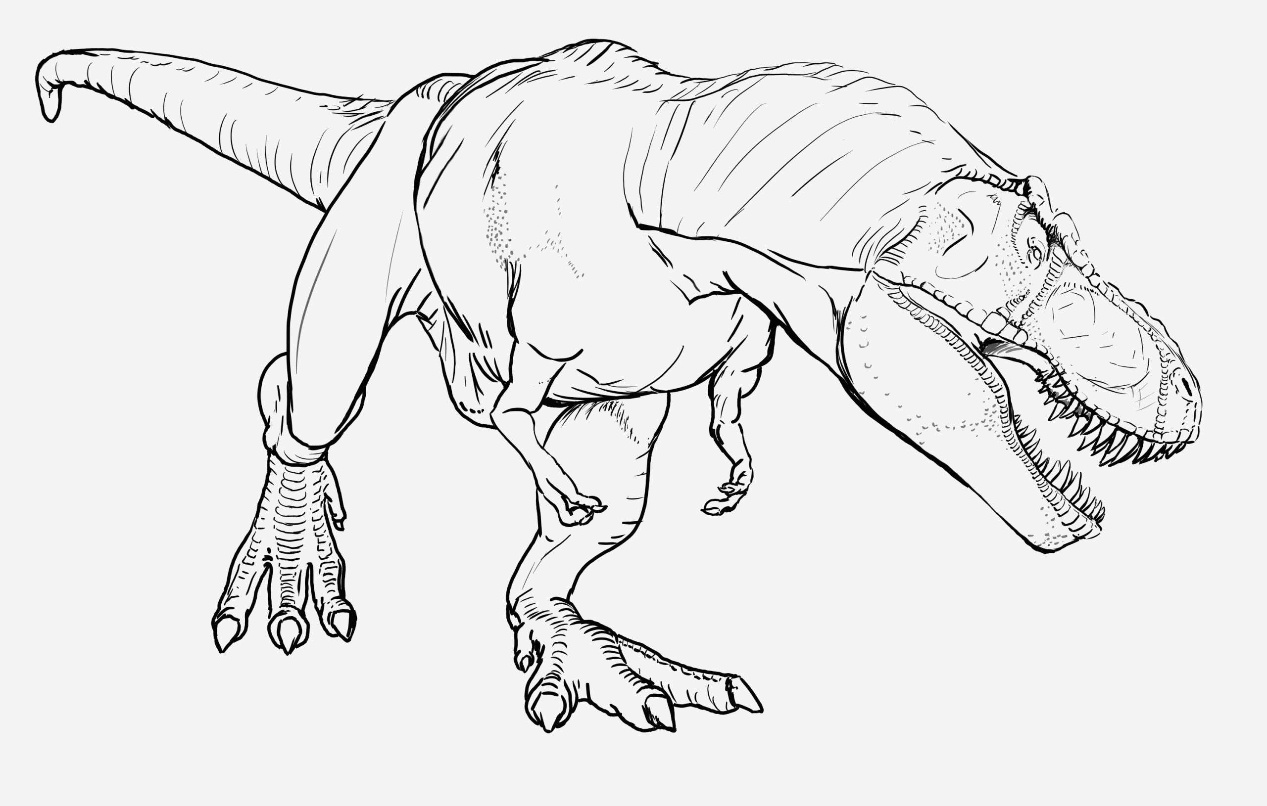 Coloriage Dinosaure Raptor Luxury Jurassic World T Rex Coloring Pages