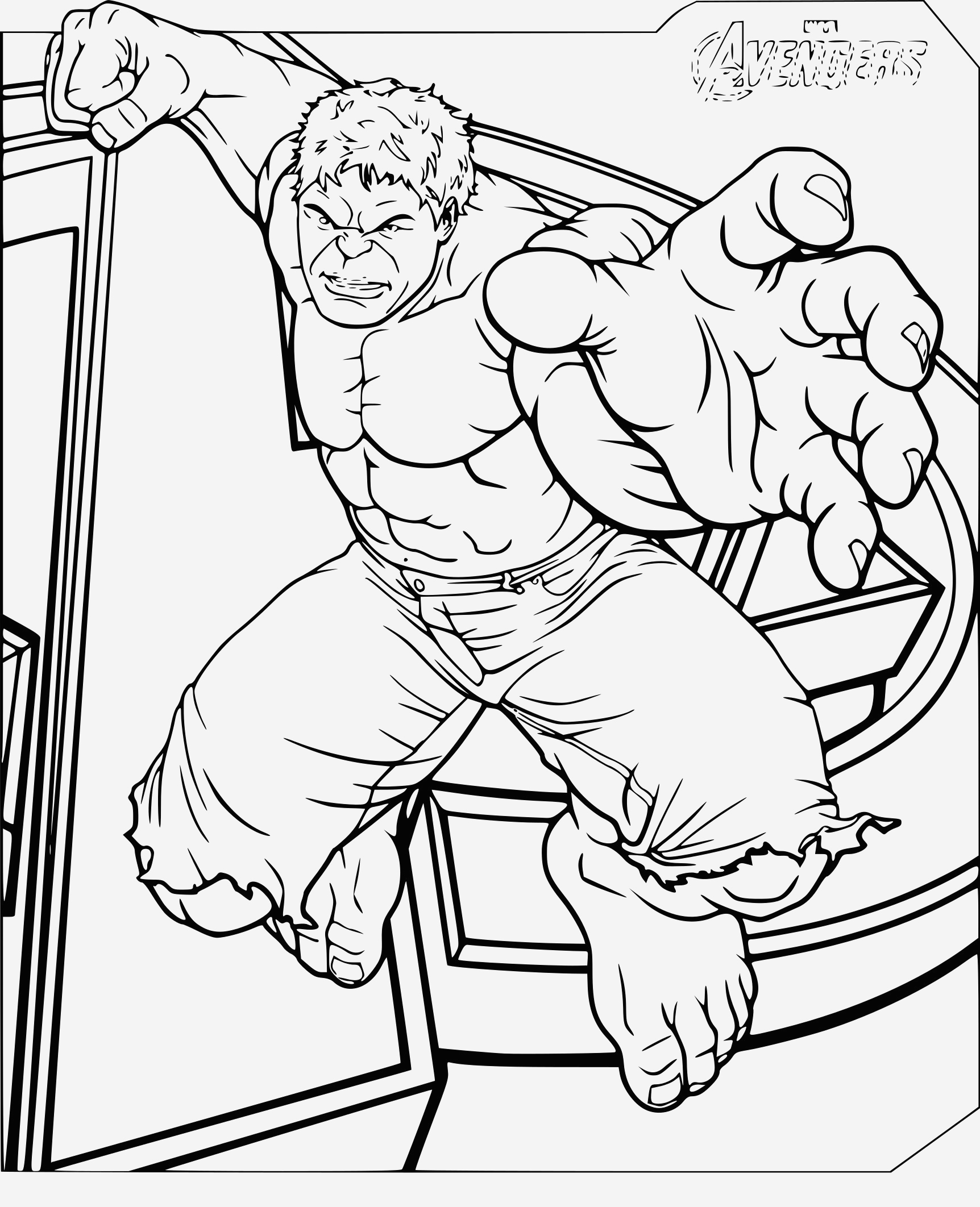 Coloriage Hulk Beautiful Coloriage Hulk Avengers   Imprimer Sur Coloriages Fo Of Coloriage Hulk
