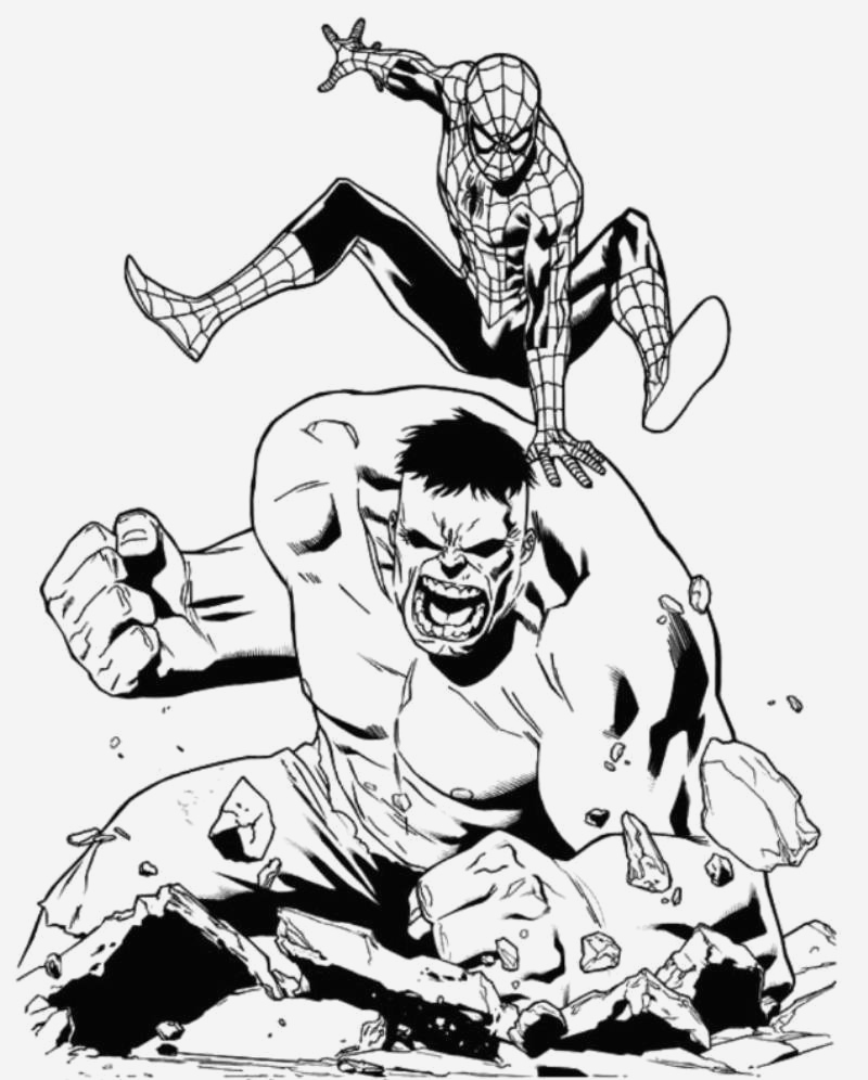 Coloriage Hulk Best Of Hulk 91 Super Héros – Coloriages   Imprimer Of Coloriage Hulk