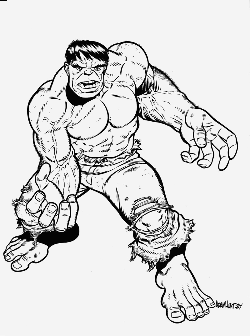 Coloriage Hulk Lovely Free Printable Hulk Coloring Pages for Kids Of Coloriage Hulk