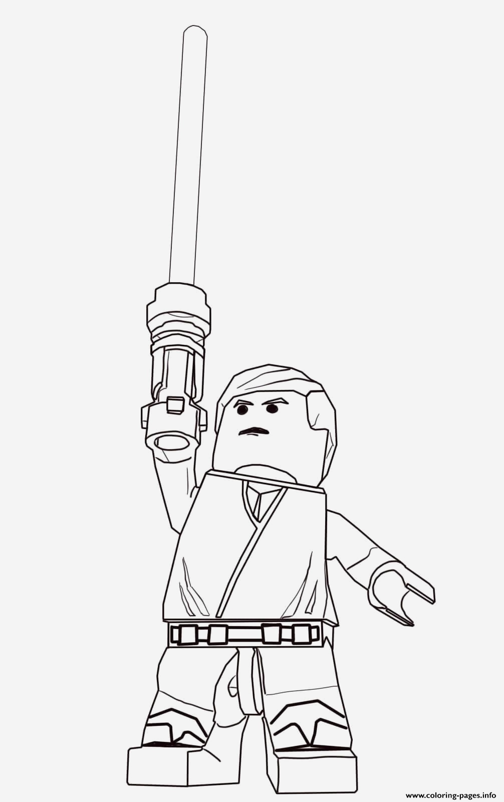 Coloriage Lego Star Wars Fresh Print Lego Star Wars Luke Skywalker Coloring Pages Of Coloriage Lego Star Wars