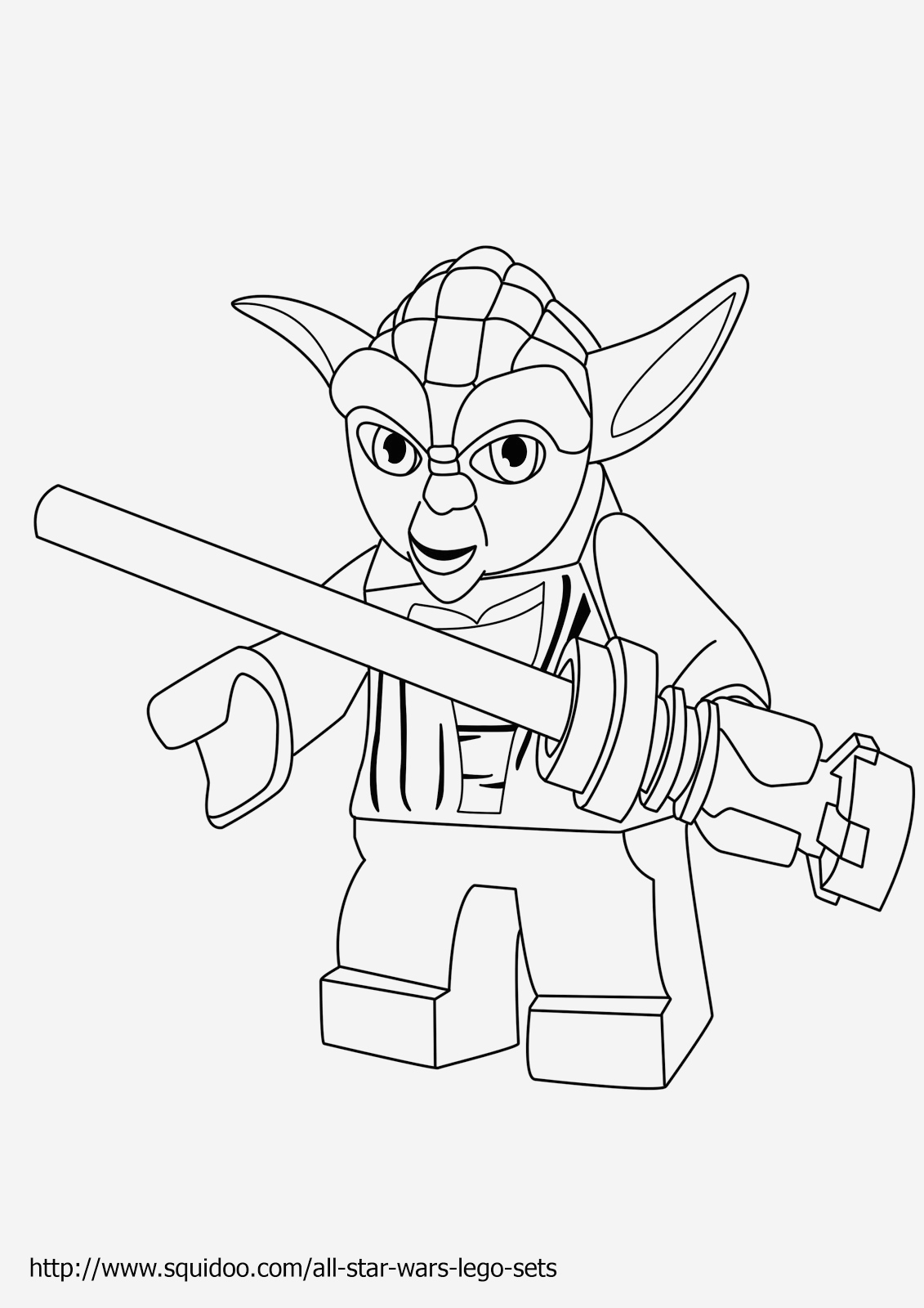 Coloriage Lego Star Wars Luxury Lego Yoda Coloring Pages at Getdrawings Of Coloriage Lego Star Wars