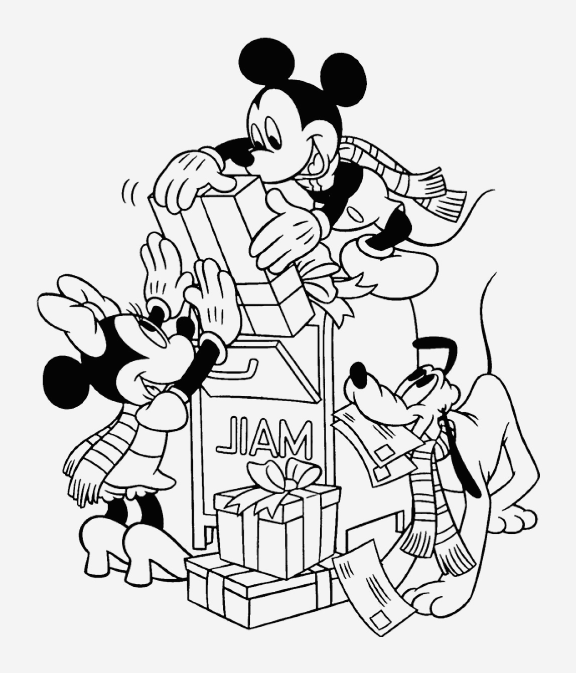Coloriage Mickey à Imprimer Awesome Coloriage Minnie Les Beaux Dessins De Dessin Animé   Of Coloriage Mickey à Imprimer