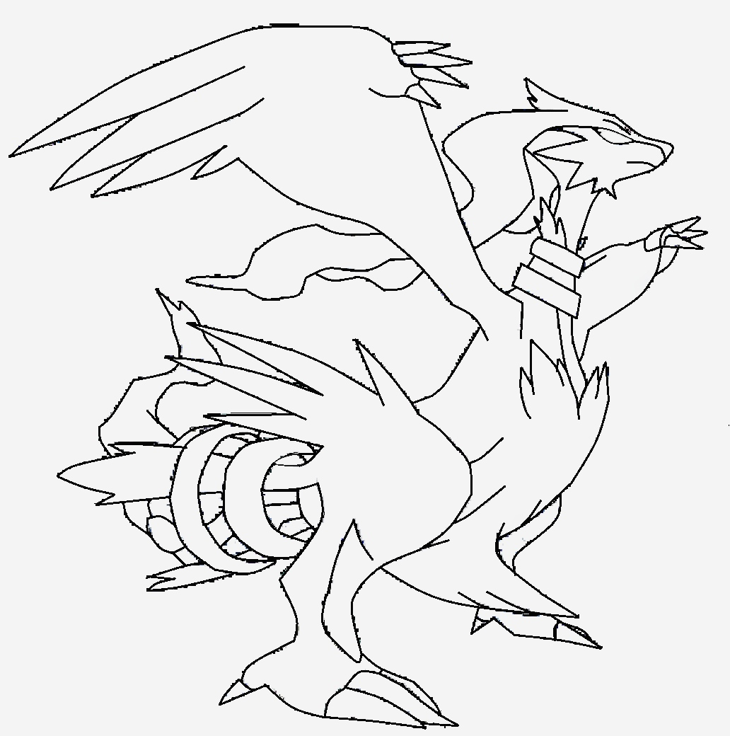 Coloriage Pokemon Evoli New Reshiram Coloriage Pokemon Légendaire Reshiram   Imprimer Of Coloriage Pokemon Evoli