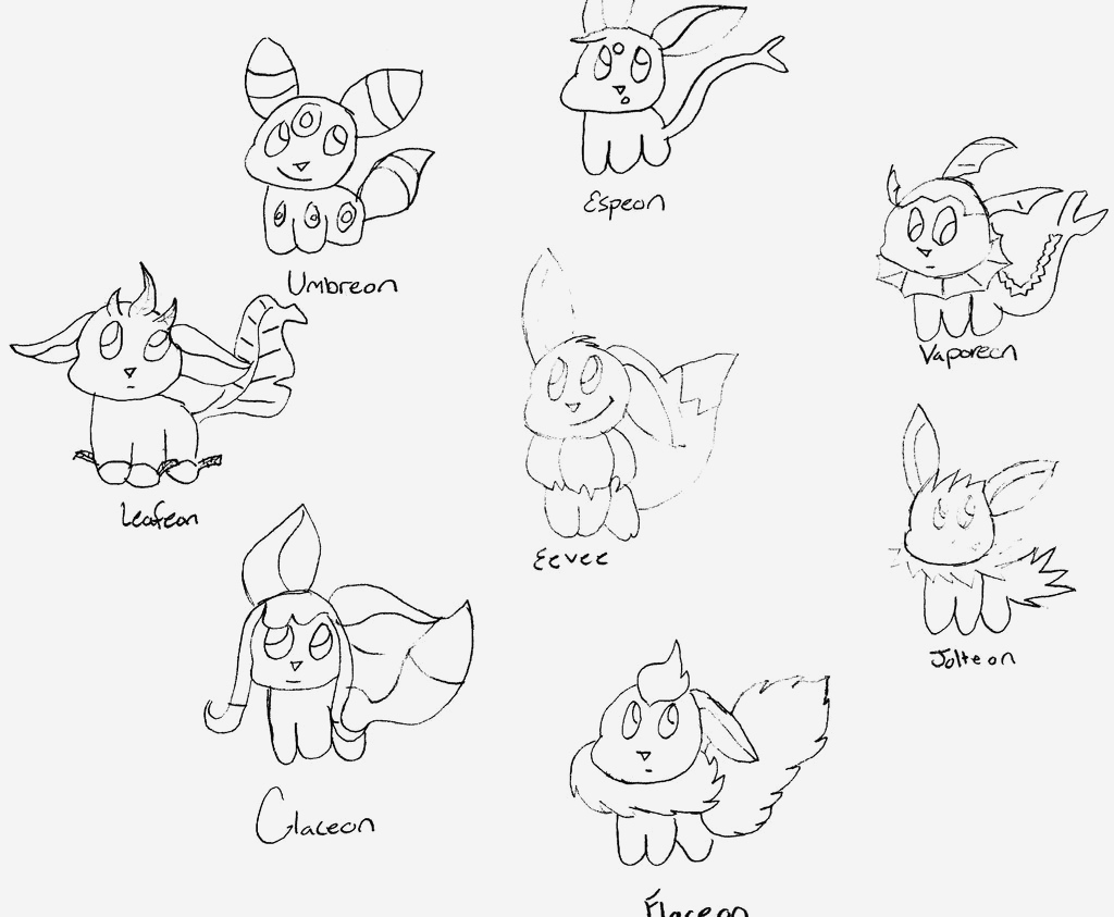Coloriage Pokemon Evoli Unique Pokemon Evolutions Coloring Pages Coloriage Pokemon Of Coloriage Pokemon Evoli