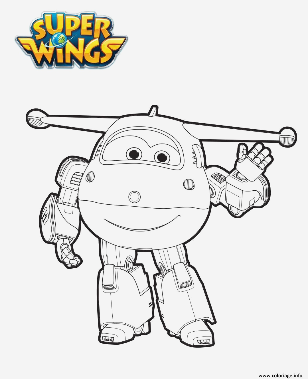 Coloriage Super Wings A Imprimer Gratuit Inspirational Coloriage Jett En Mode Robot2 Jecolorie