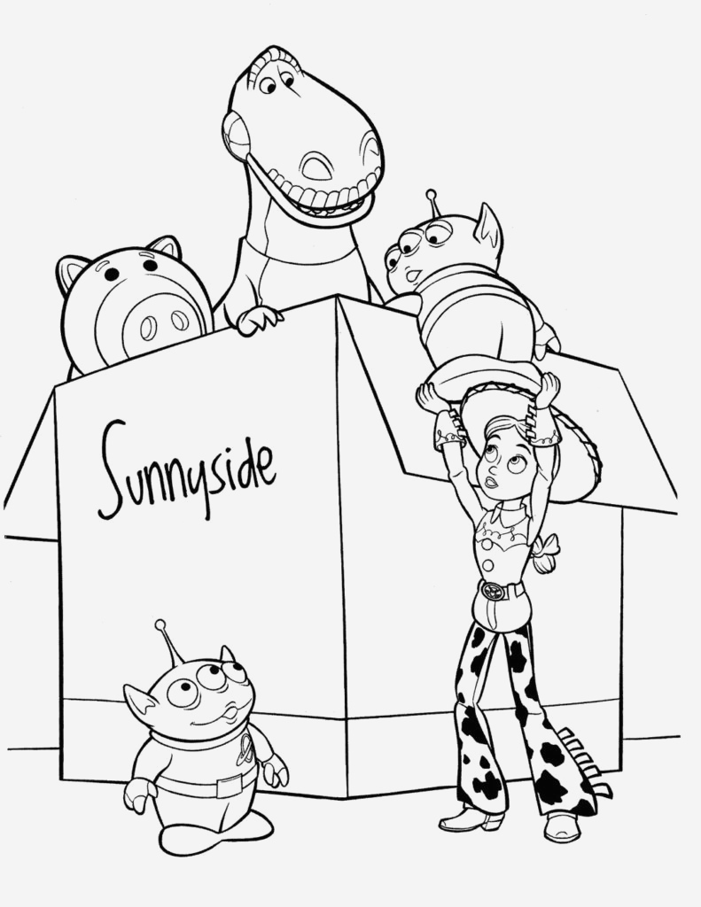 Coloriage toy Story 4 Beautiful toy Story Coloring Pages – Coloringcks Of Coloriage toy Story 4