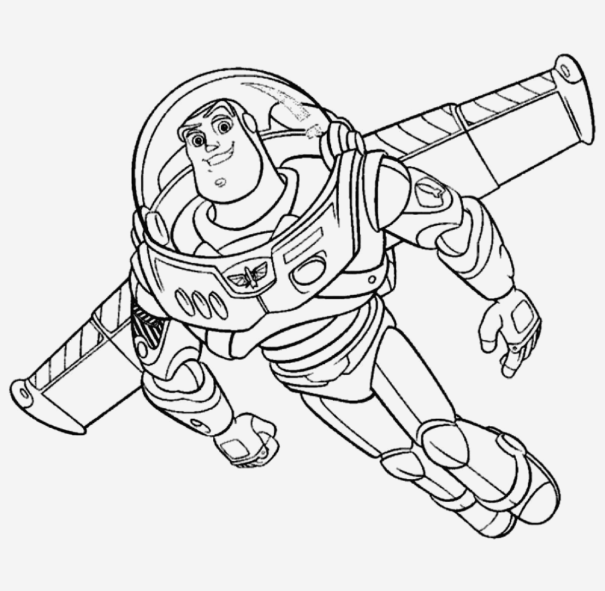 Coloriage toy Story 4 Fresh Free Printable Buzz Lightyear Coloring Pages for Kids Of Coloriage toy Story 4