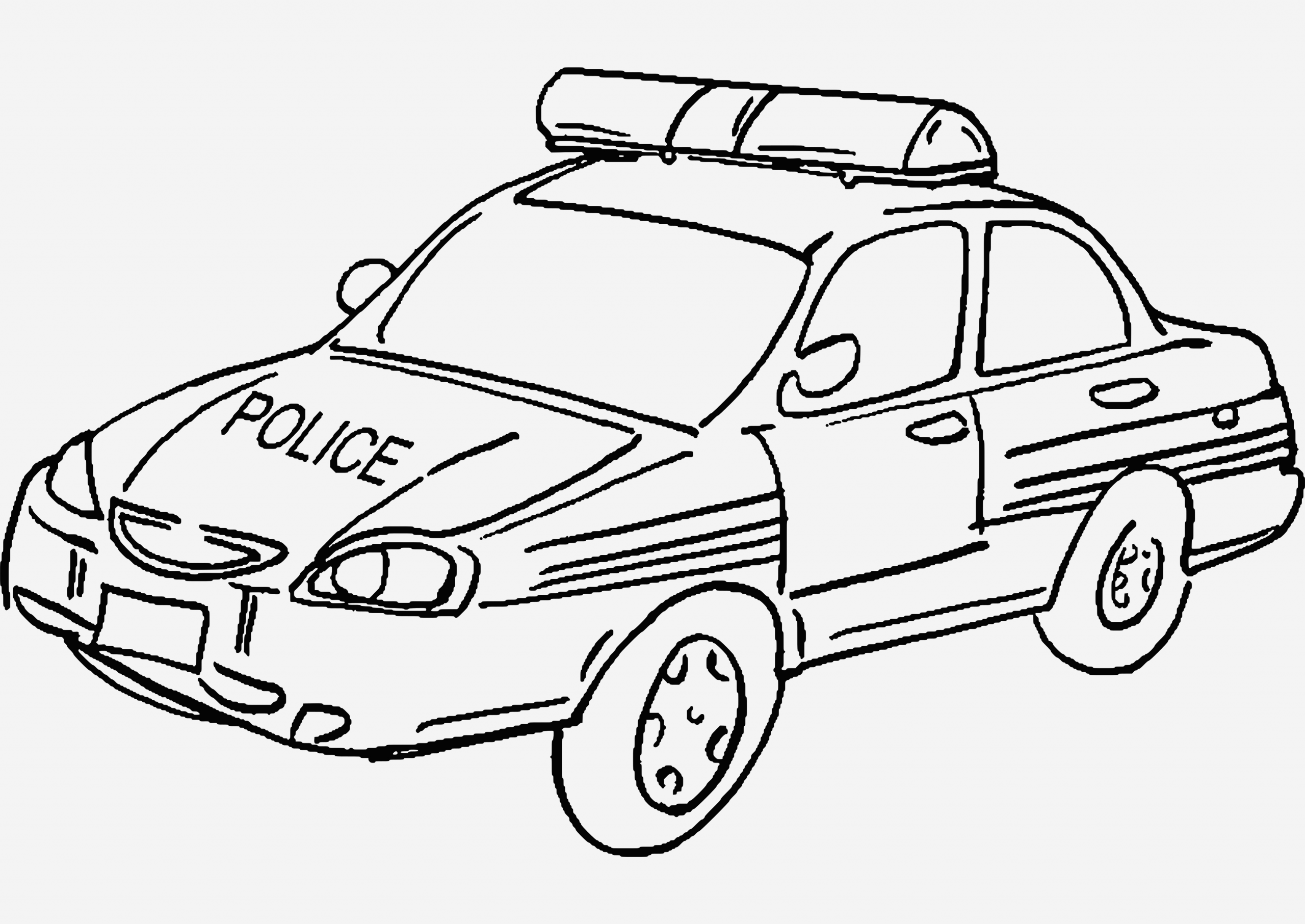 Coloriage Voiture De Police Awesome Police Car 10 Transportation – Printable Coloring Pages