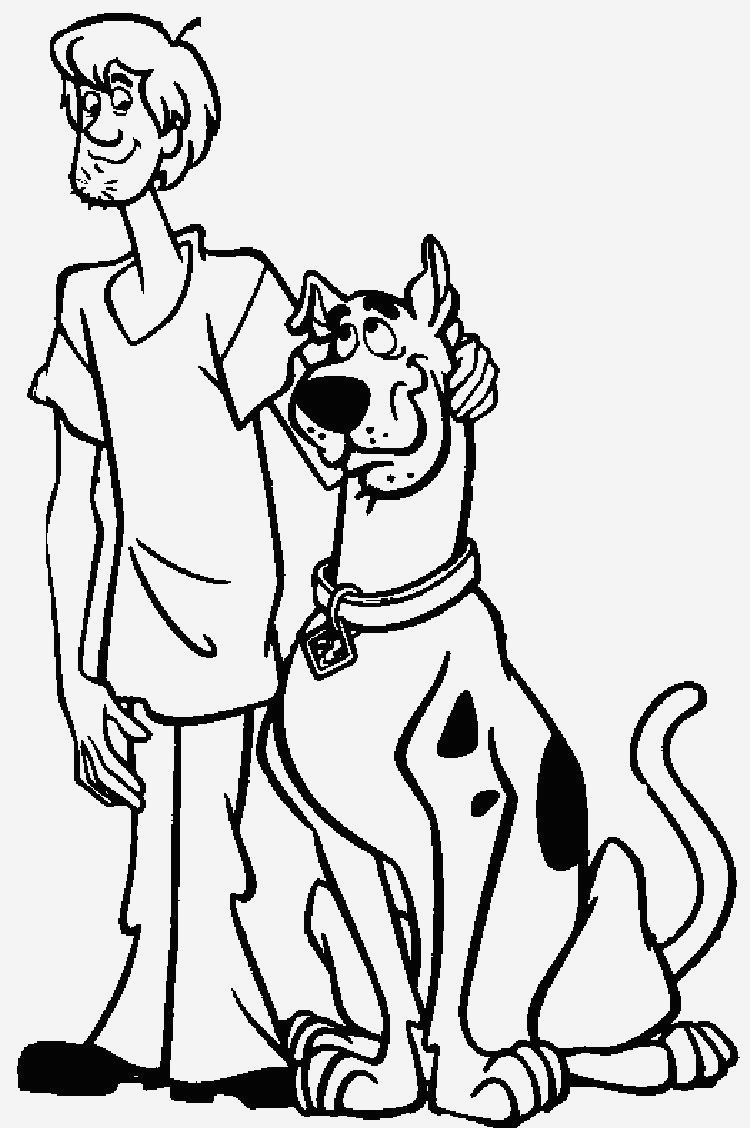 Coloriage Scooby Doo Elegant Pages Coloring Scooby Doo Coloring Pages Fantastic Image Of Coloriage Scooby Doo