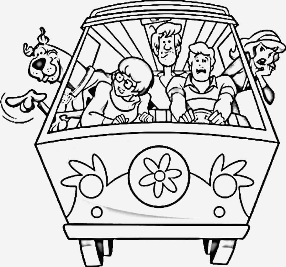 Coloriage Scooby Doo Inspirational Pages Coloring Scooby Doo Coloring Page Free Printable Of Coloriage Scooby Doo