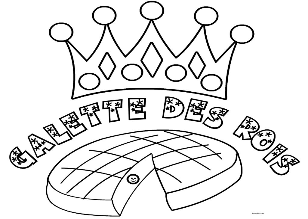 coloriage galette ms
