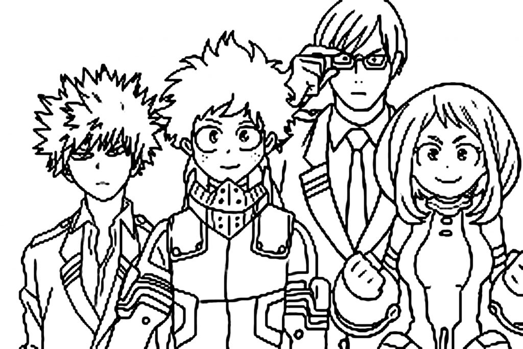 coloriage my hero academia (1)